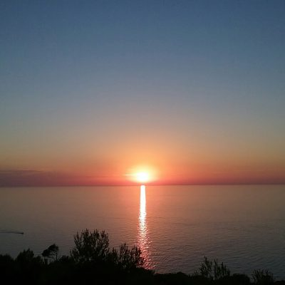 Muleta - Sonnenuntergang am Leuchtturm Cap Gros
