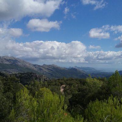 Son Amer - Pont Romà -- Blick auf die Halbinsel Formentor und das Meer -- GR 221