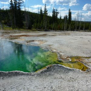 Thermalquelle im Yellowstone Nationalpark