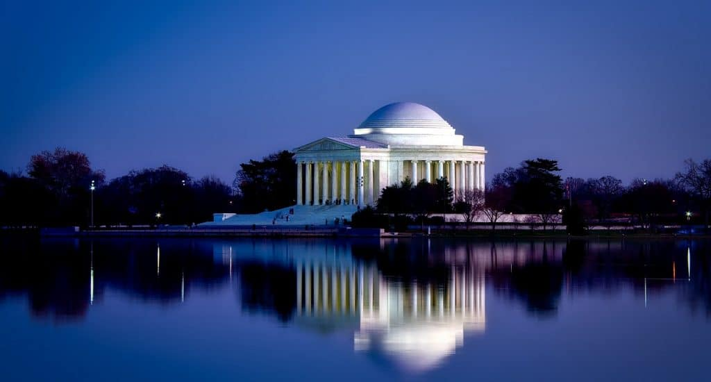 Jefferson Memorial, Washington, D.C. Wahrzeichen