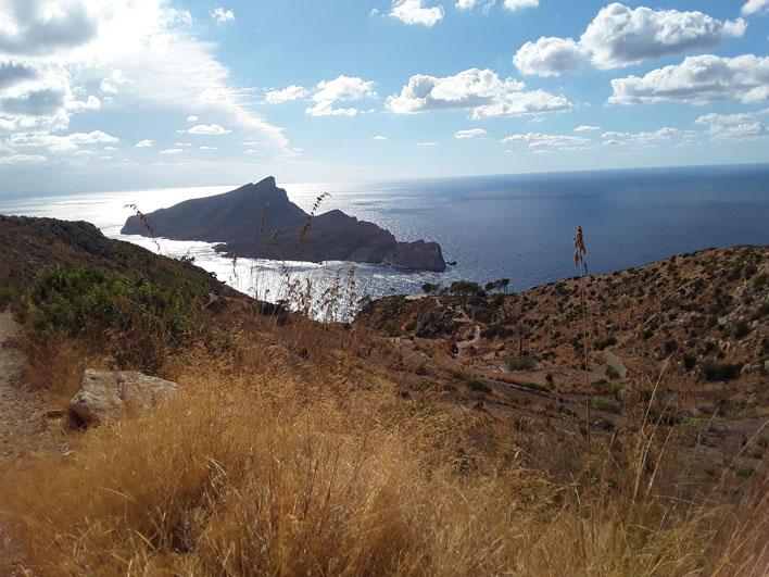 Blick auf Sa Dragonera und La Trapa