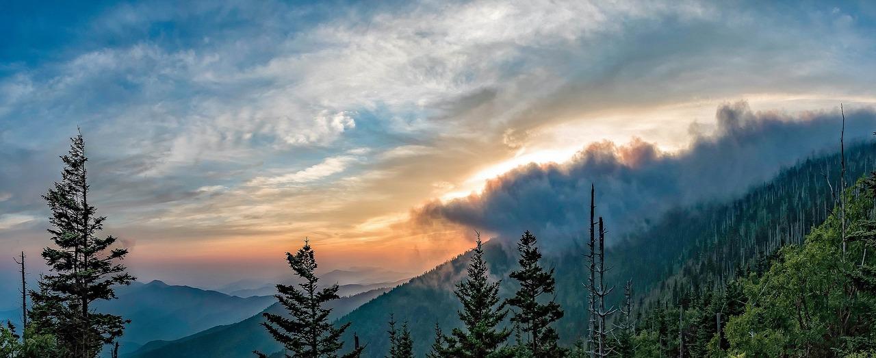 Tennessee Berglandschaft Smoky Mountains