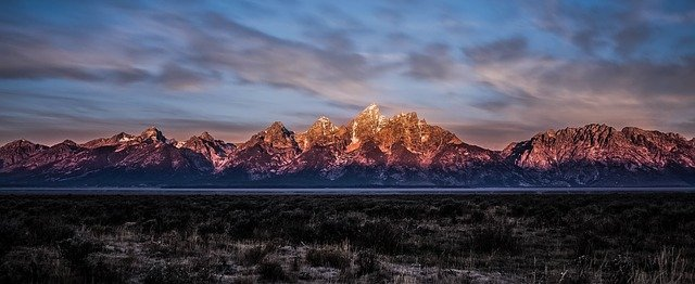 Teton Crest Trail, Grand Teton Nationalpark, Wyoming
